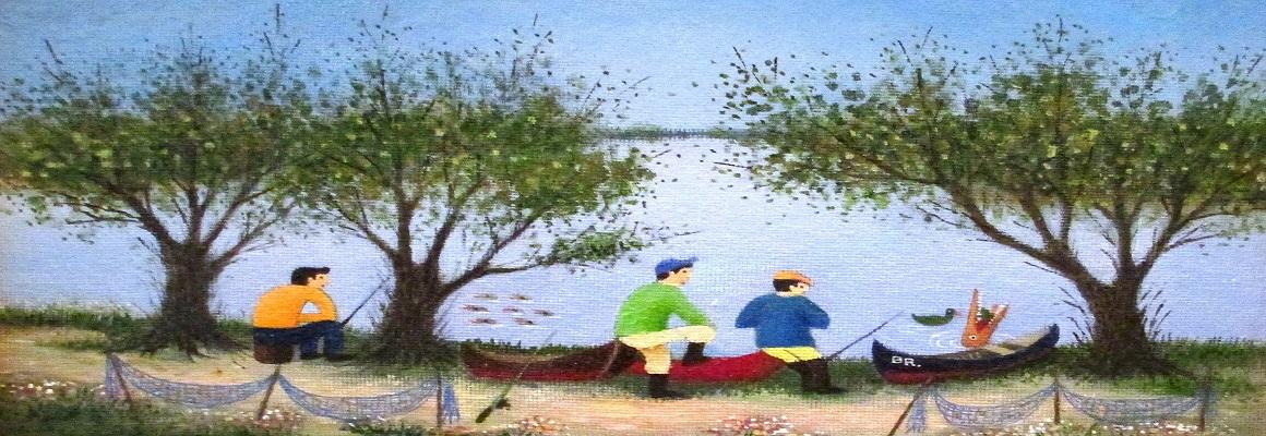 Dumitru-Stefanescu-Braila-La-pescuit