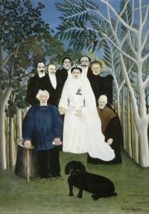 Henri Rousseau (1844-1910) - Nuntă la ţară