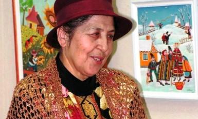 portretul artistului Catinca Popescu 1