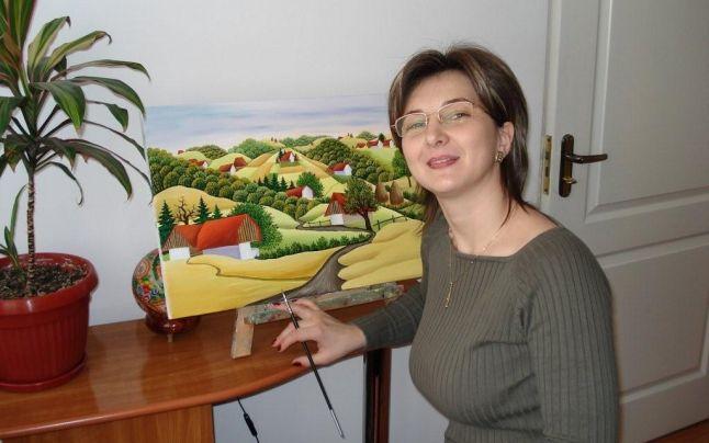 portretul artistului Mariana Mihut