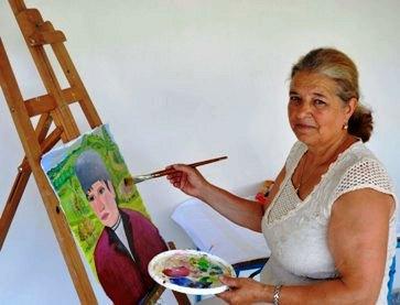 x-portretul artistului Maria Lupu 1 a