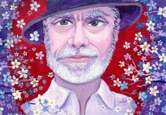 Gheorghe Ciobanu - Portret de pictor (36x40 cm)-pt. site