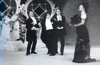 Maria Gherca in rolul Rozalinda - mic