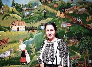 Rozica Miclescu si 'Satul de la munte'-mic