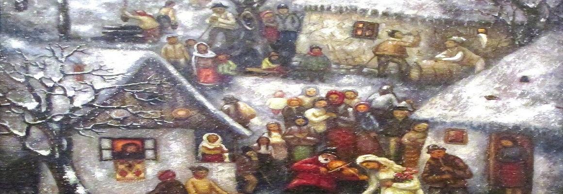 Nicolae-Patru-Furnicosi-Arges-Seara-de-iarna-cu-petrecere