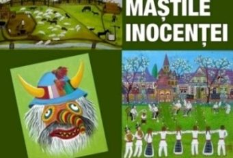 afis expo 'Mastile inocentei' 2017 - mijlociu