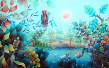 Gheorghe Babeţ - Colţ de natură (1976) mic